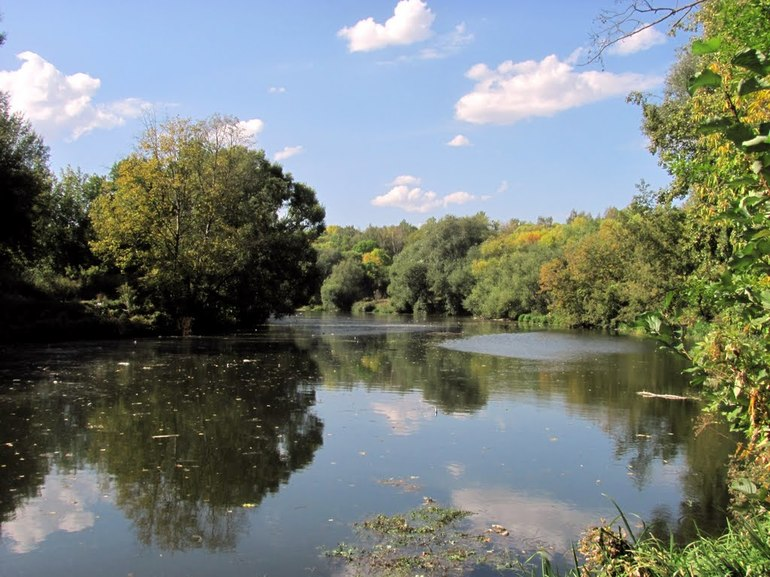 Река орлик