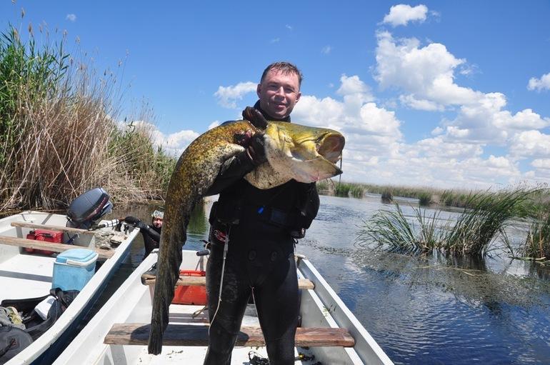 Рыбалка озера Балхаш