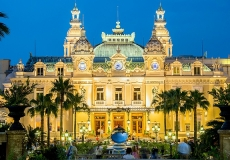 MONTE CARLO - JULY 4: Monte Carlo casino in Monaco on July 4, 20