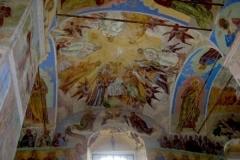 Фреска на потолке Свято-Троицкого собора
