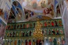 Иконостас Свято-Троицкого Александро-Свирского монастыря