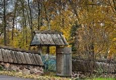 Городище Воронич в Пушкинском музее заповеднике Псковская область