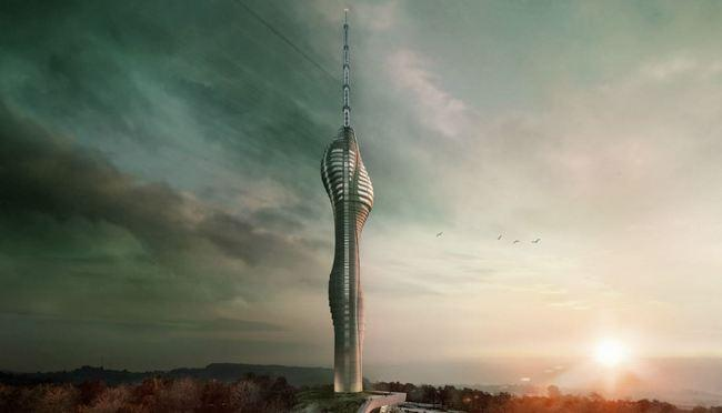 Новый необычный объект недвижимости, скоро создадут в Стамбуле